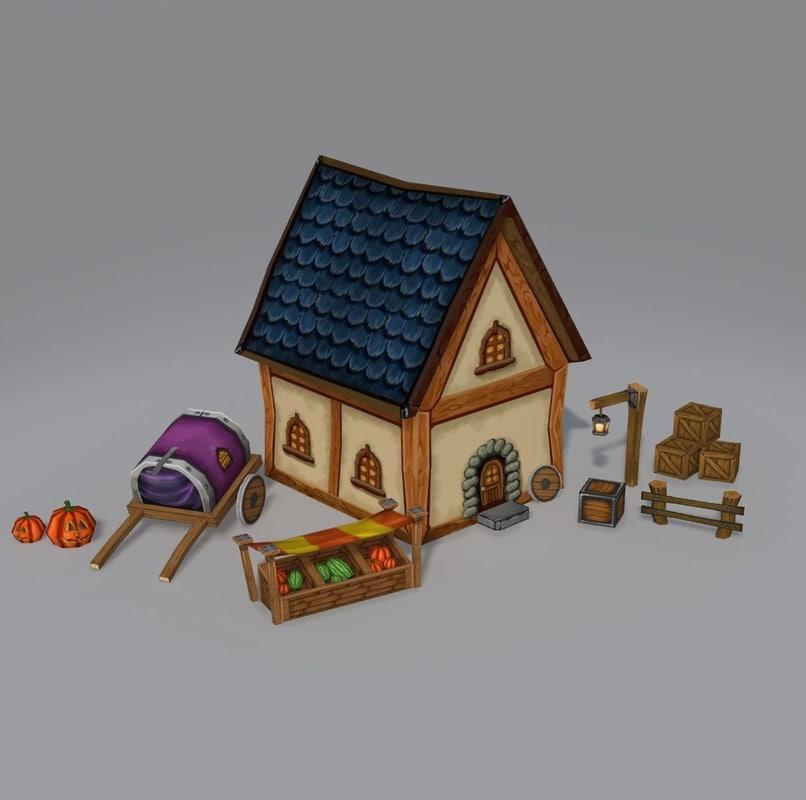 3D model fantasy pack