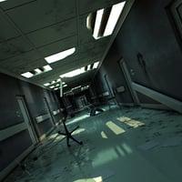 damaged hallway 3D