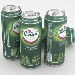 3D beer grolsch model