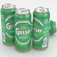 beer gosser marzen 3D model