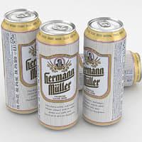3D beer hermann muller