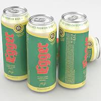 3D model beer bier egger