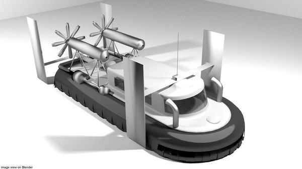 3D class hovercraft
