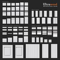 Ultrawood architectural decor