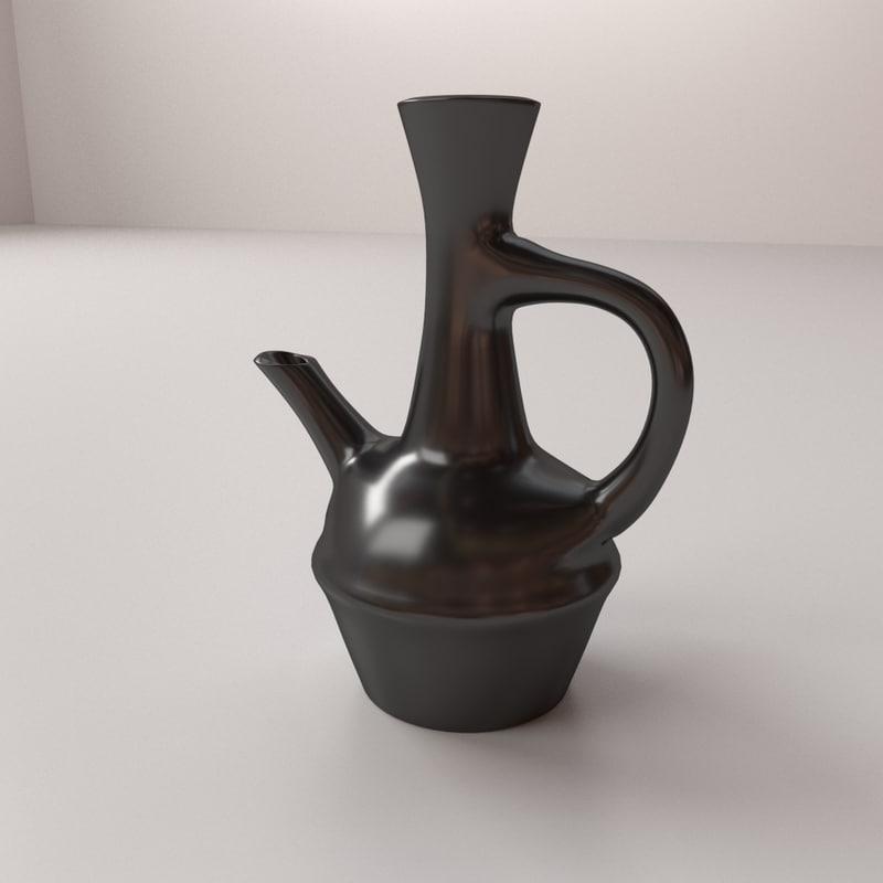 3D jebena v2 model