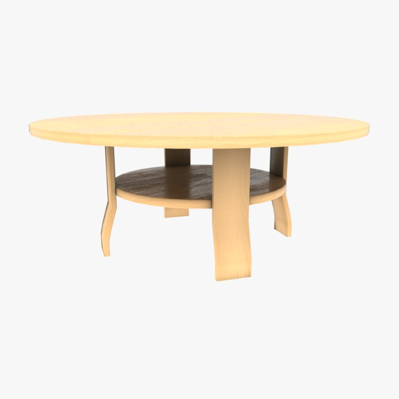3D ready small table