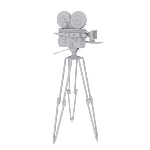 3D movie camera classic