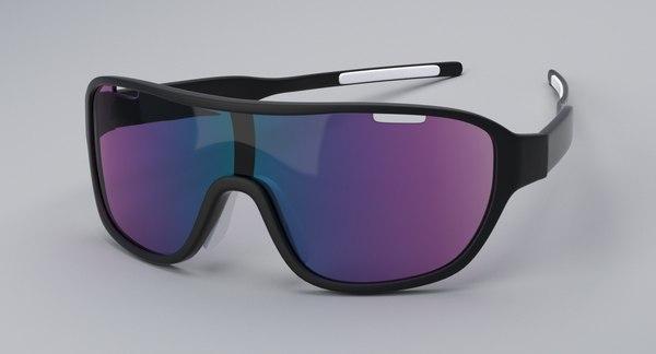 sport glasses 3D model