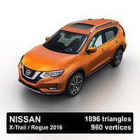 Nissan Rogue / X-Trail 2016