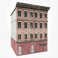 3D ready apartment building