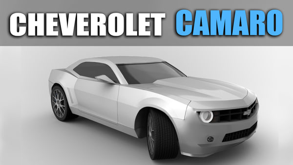 cheverolet camaro 3D model