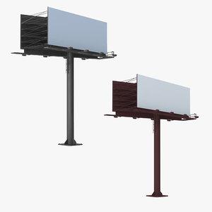 3D model billboard 2