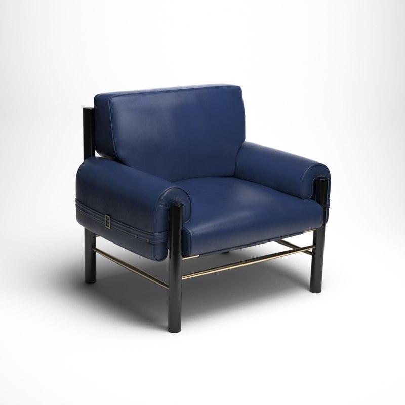 dean armchair 3D model