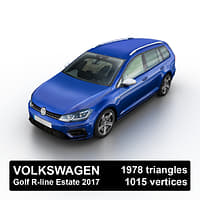 2017 golf r-line estate model