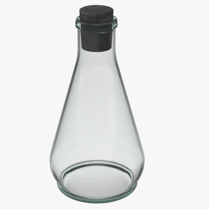 flask 3D model