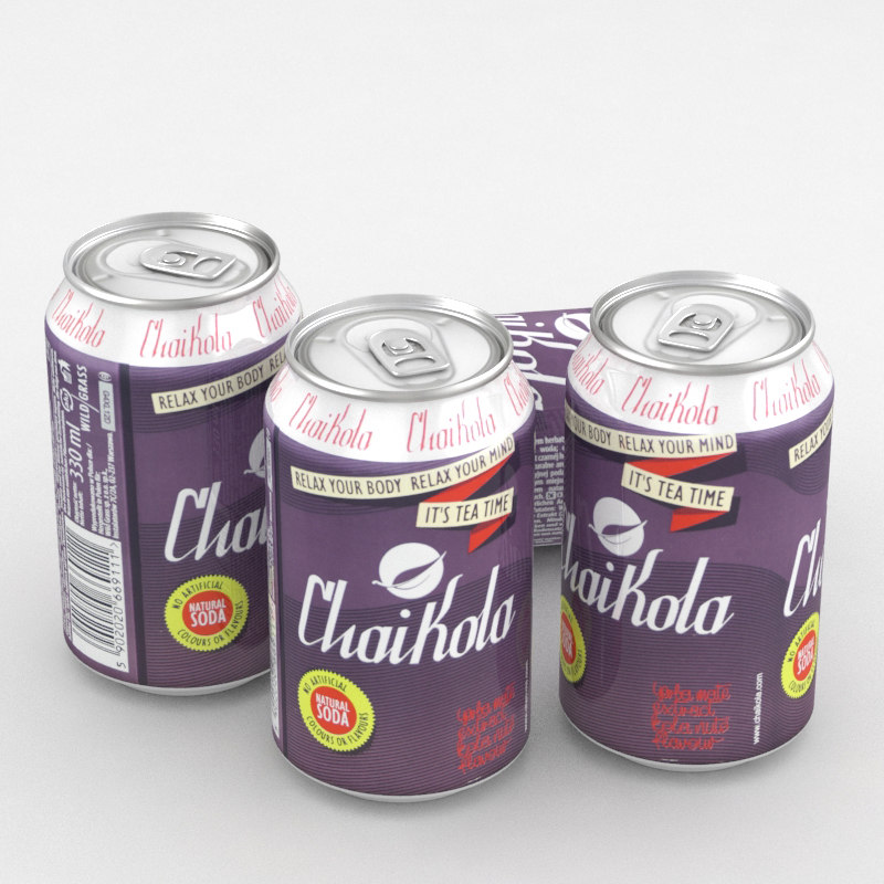 3D model beverage chaikola