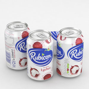 3D beverage rubicon lychee
