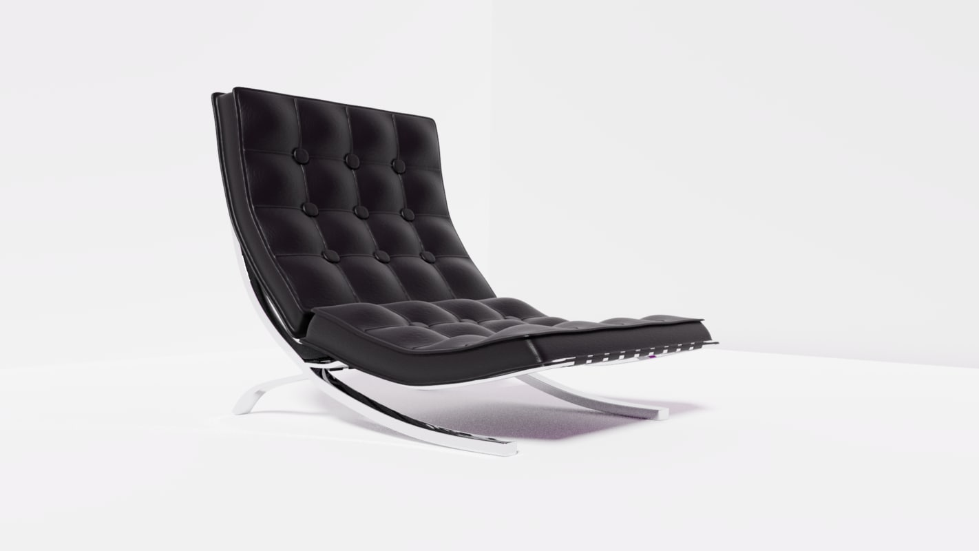 chair office 3D