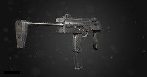 mp7a1 gun 3D