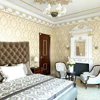 3D classic bedroom design