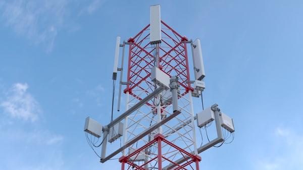 3D mobile transmitter model
