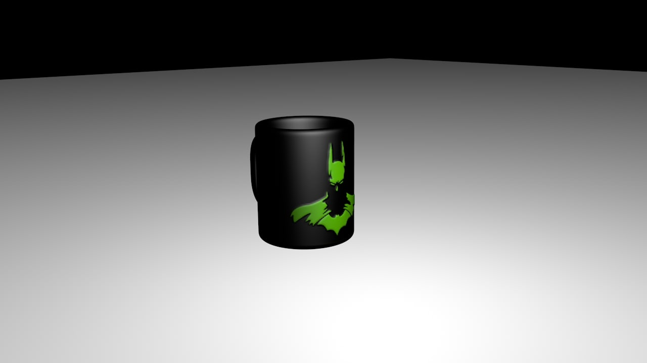 3D printing mug