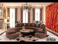 3D living room