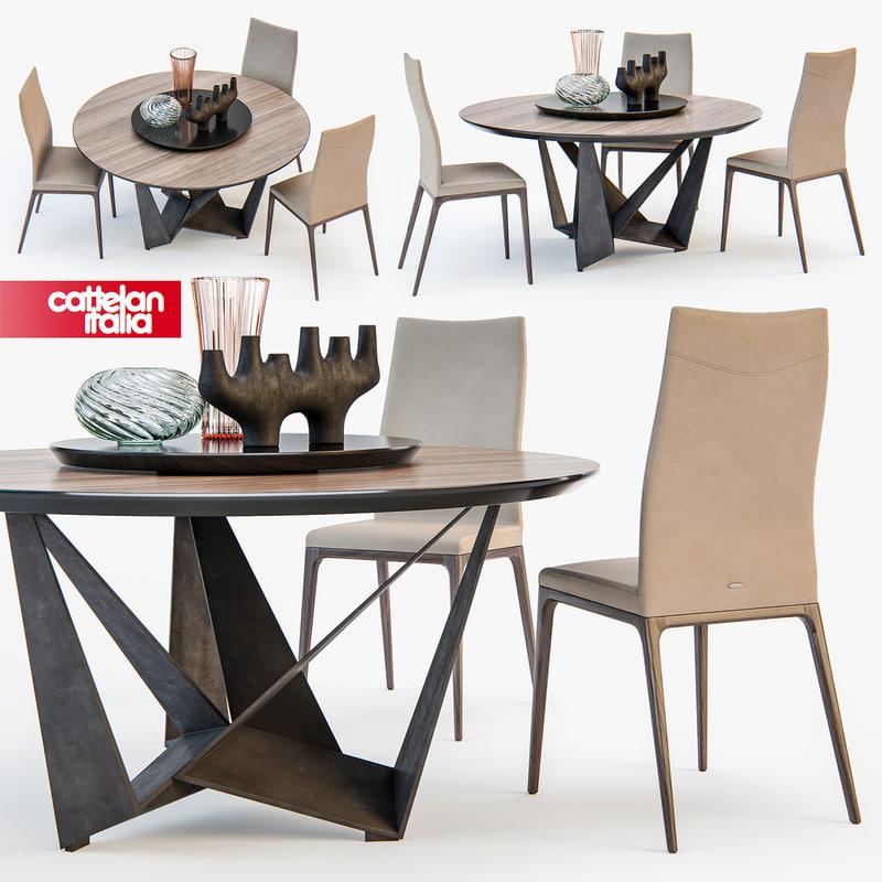 cattelan italia skorpio table model