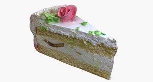 piece cake 3D model