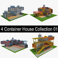 4 Container House Collection 01