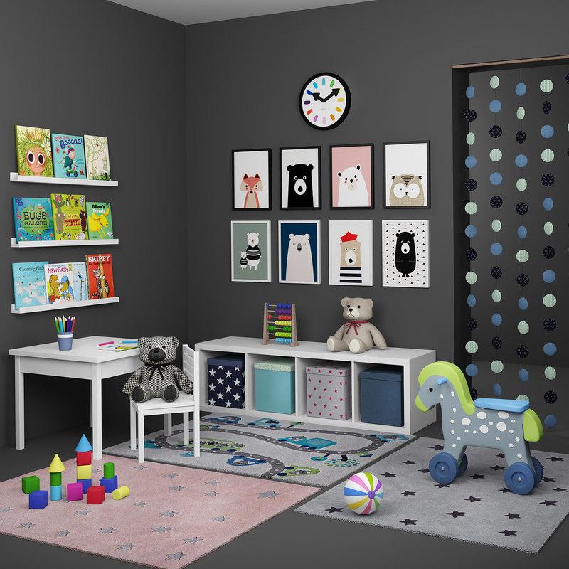 children s decorative 3D