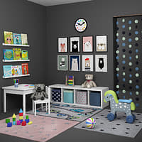 children s decorative 3D