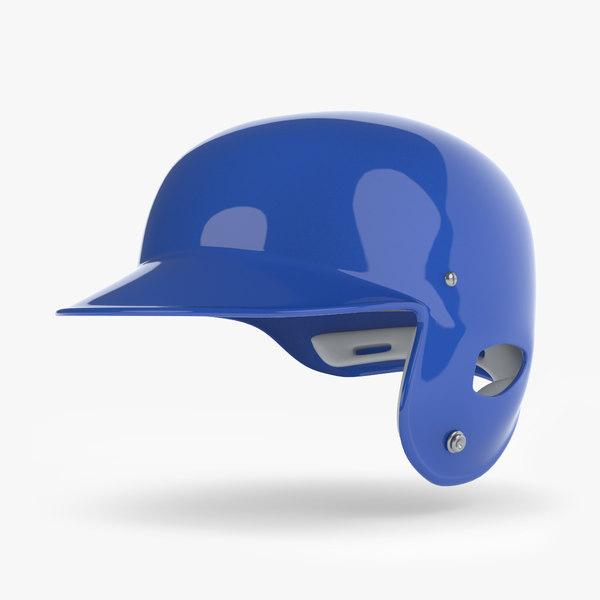3D generic helmet baseball -