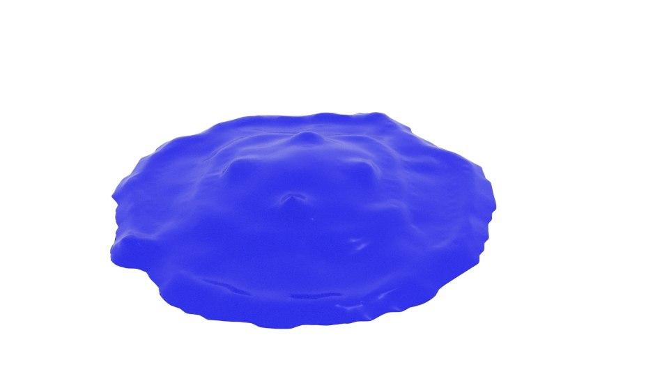 cube splash 3D