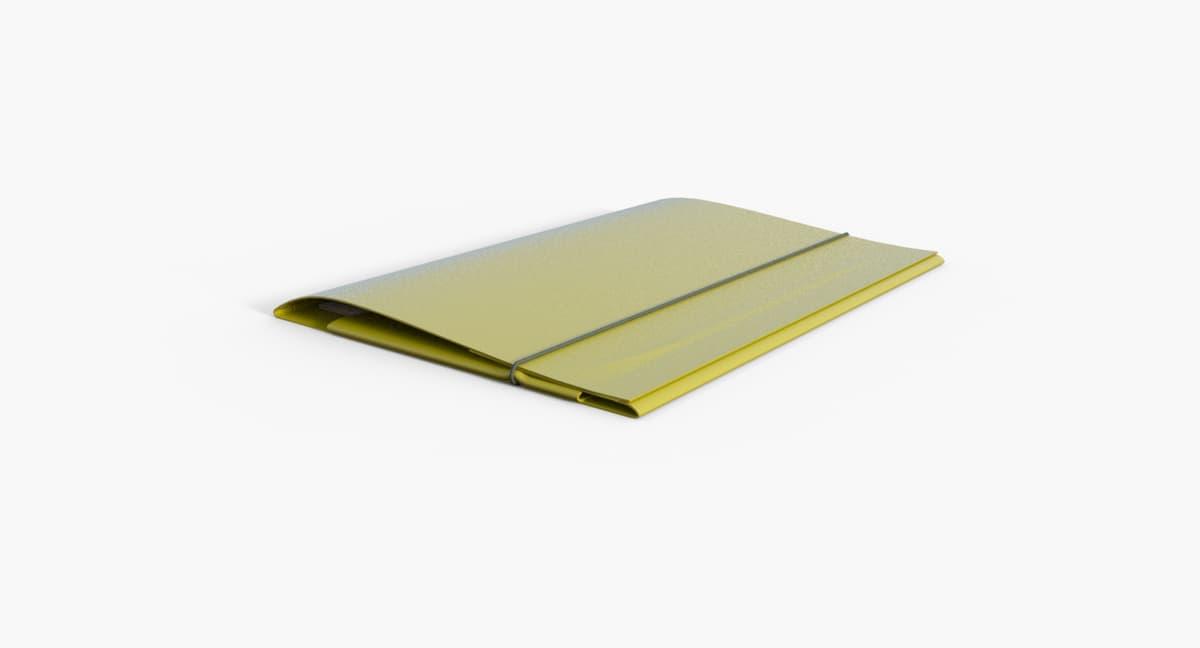folder paper model