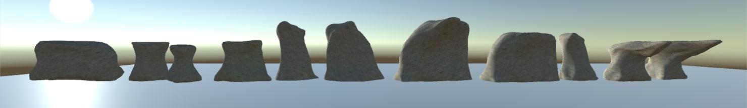 3D ready cliff