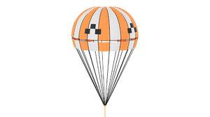 parachute chute 3D