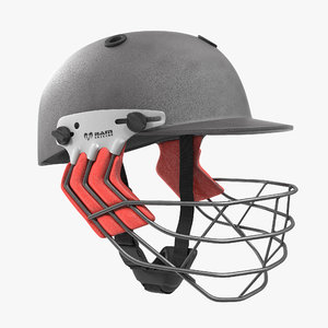 cricket helmet ram protec 3D model