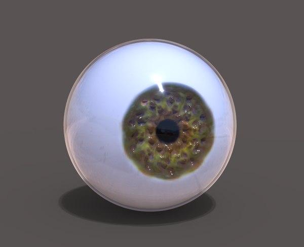 3D ojo model