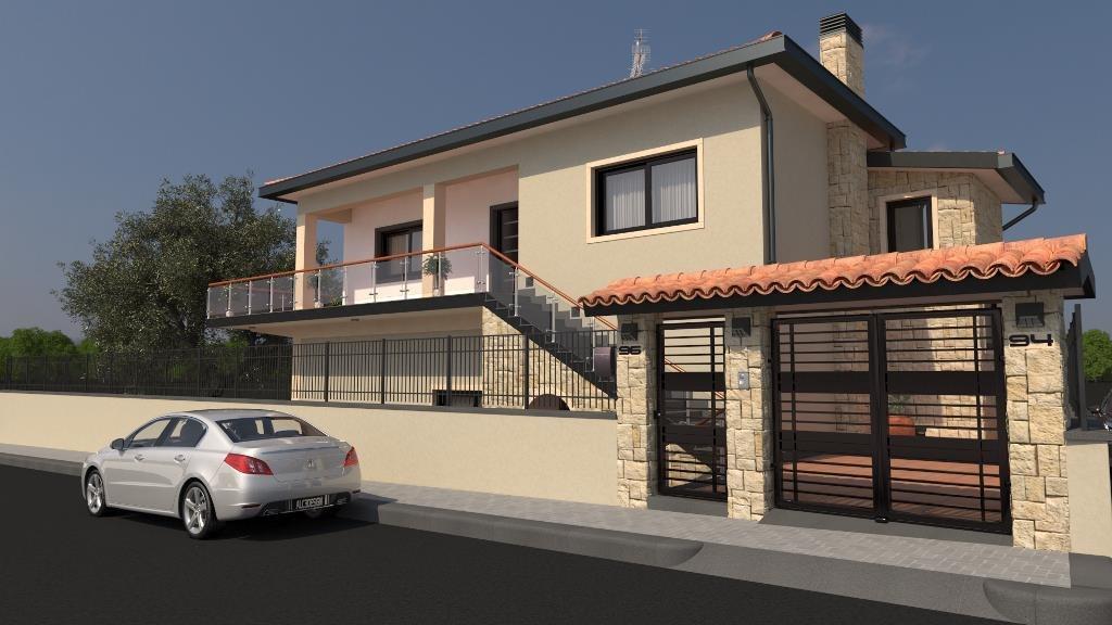 3D realistic villa