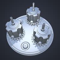 sci-fi asset - 3D model