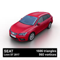 3D seat leon st