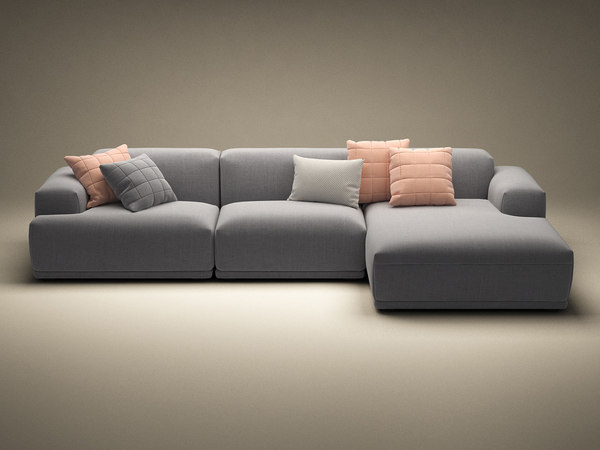 connect 3-seater lounge 3D