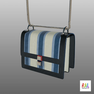 bag leather 3D model