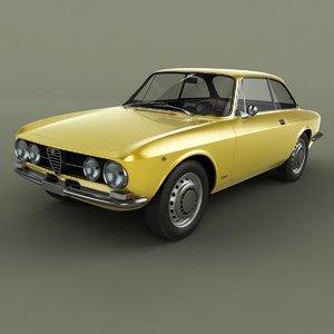 3D model 1967 alfa romeo giulia