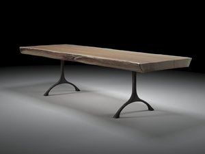 rough table 3D model