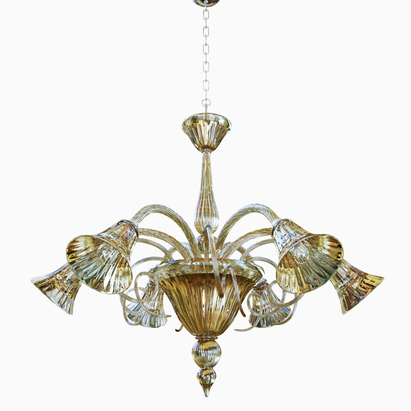 3D chandeliers lights sylcom 1420
