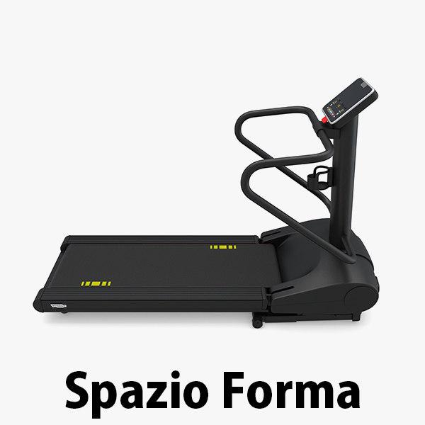 - spazio forma treadmill 3D model
