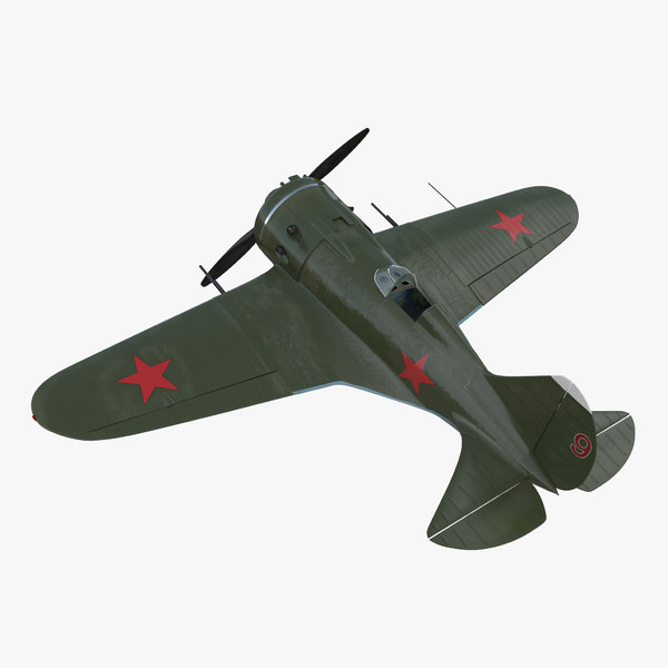 3D soviet wwii fighter aircraft