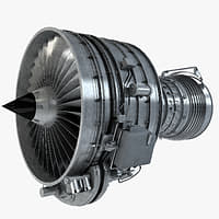 Aircraft Turbofan Engine